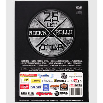 DVDs DOGA- 25 years Rock'n'Roll, NNM, Doga