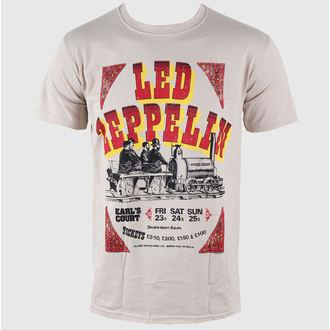 t-shirt metal men's Led Zeppelin - Earls Court Tickets - LIVE NATION, LIVE NATION, Led Zeppelin