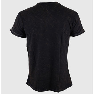 t-shirt street men's Jack Daniels - Acid Washed - JACK DANIELS, JACK DANIELS