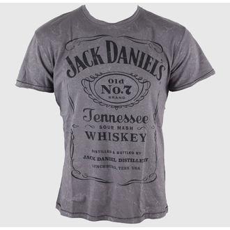 t-shirt street men's Jack Daniels - Acid Washed - JACK DANIELS - TS111080JDS