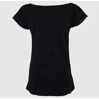 t-shirt street women's Jack Daniels - Classic Logo - JACK DANIELS - TS230501JDS