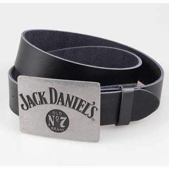 belt Jack Daniels - Metal Buckle - Black - BIOWORLD, JACK DANIELS