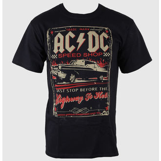 t-shirt metal men's AC-DC - Speedshop - LIQUID BLUE, LIQUID BLUE, AC-DC