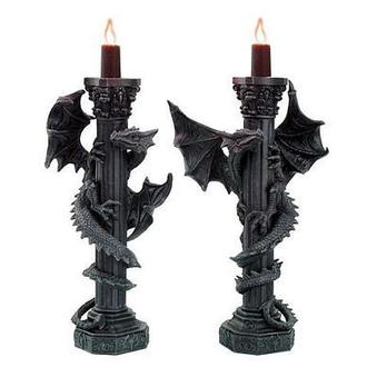 candlesticks Poly Dragons - 766-6495