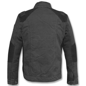 jacket men spring/autumn BRANDIT - Blake - Black - 3129/2