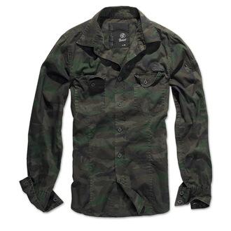 shirt men BRANDIT - Men Shirt Slim - Woodland - 4005/10košile men BRANDIT - Men Shirt Slim -