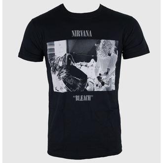 t-shirt metal men's Nirvana - Bleach - LIVE NATION - PENIR0360
