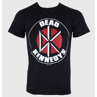 t-shirt metal men's Dead Kennedys - Brick Logo - LIVE NATION