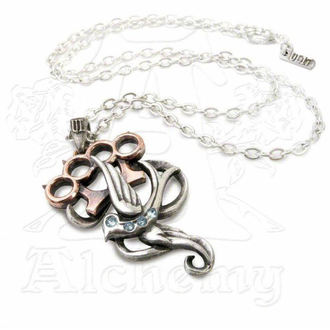 necklace Swallow Duster - Alchemy Gothic, ALCHEMY GOTHIC