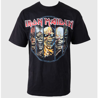 t-shirt metal men's Iron Maiden - Eddie Candle - ROCK OFF - IMTEE02MB