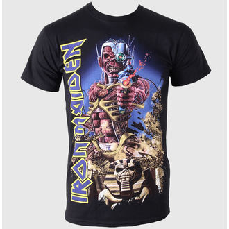 t-shirt metal men's Iron Maiden - Somewhere In Time - ROCK OFF - IMTEE25MB