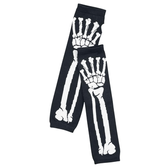 sleeve POIZEN INDUSTRIES - Bone Armwarmer - Black / White