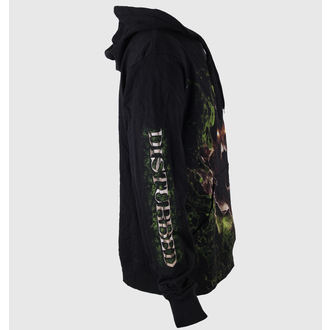 hoodie men's Disturbed - Giant Face - BRAVADO, BRAVADO, Disturbed