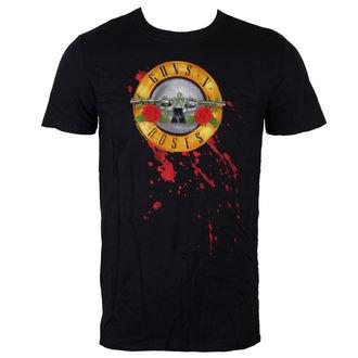 t-shirt metal men's Guns N' Roses - Bullet Logo - BRAVADO EU - GNRTS03MB