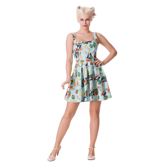 dress women HELL BUNNY - Becky - Blue, HELL BUNNY
