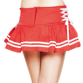 skirt women's HELL BUNNY - Motley - Red, HELL BUNNY