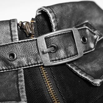 men's coat PUNK RAVE - Alien - Y-689male-bk