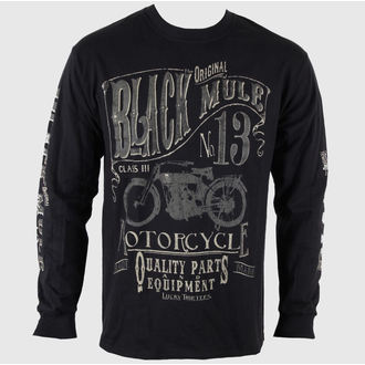 t-shirt men with long sleeve LUCKY 13 Black Mule, LUCKY 13