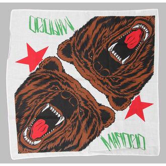kerchief MAFIOSO - Cali Bear - White, MAFIOSO