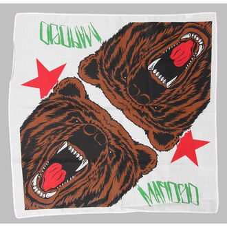 kerchief Mafiosi - Cali Bear - White, MAFIOSO