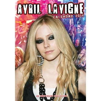 calendar to year 2014 Avril Lavigne, Avril Lavigne