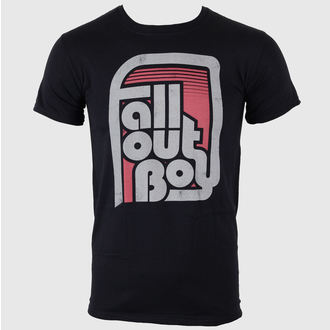 t-shirt metal men's Fall Out Boy - Retro Black - LIVE NATION - PE10259TSB