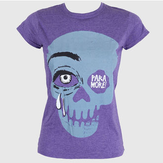 t-shirt metal women's Paramore - Cry A Little Purple - LIVE NATION, LIVE NATION, Paramore