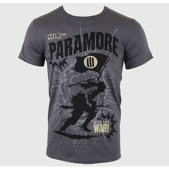t-shirt metal men's Paramore - Minifield Charcoal - LIVE NATION, LIVE NATION, Paramore
