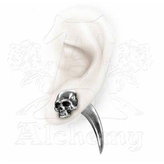 earrings Tomb Skull Horn - ALCHEMY GOTHIC - E320