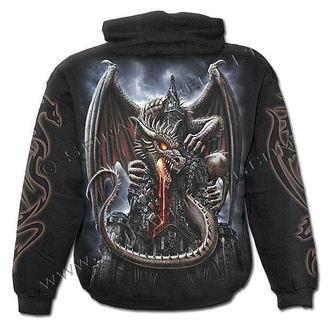 hoodie men's - Dragon Lava - SPIRAL - L014M451
