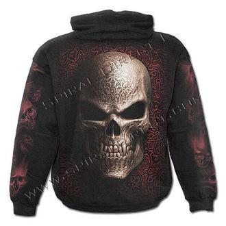 hoodie men's - Goth Skull - SPIRAL - T069M451