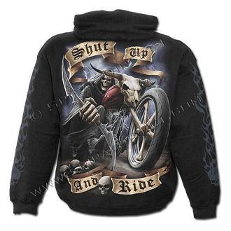hoodie men's - Shut Up And Ride - SPIRAL - T070M451