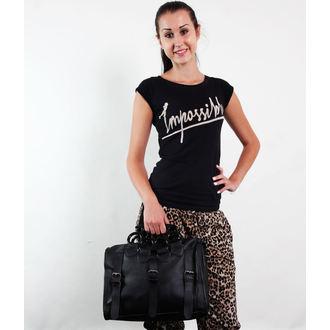 bag (handbag) POIZEN INDUSTRIES - Lethal - BLACK
