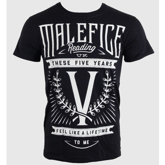 t-shirt metal men's Malefice - Five Years - LIVE NATION, LIVE NATION, Malefice