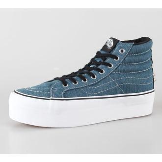 high sneakers women's - U SK8-HI PLATFORM (Studded) - VANS - BL, VANS