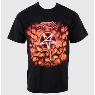 t-shirt metal men's Anthrax - Worship Music - ROCK OFF, ROCK OFF, Anthrax