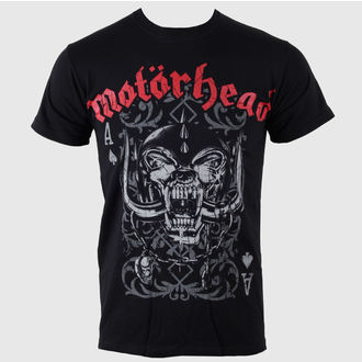 Metal T-Shirt men's Motörhead - - ROCK OFF - MHEADTEE12MB