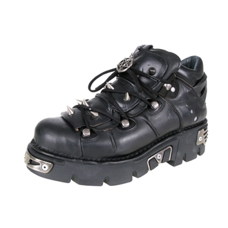 boots leather - Prick Shoes (110-S1) Black - NEW ROCK, NEW ROCK
