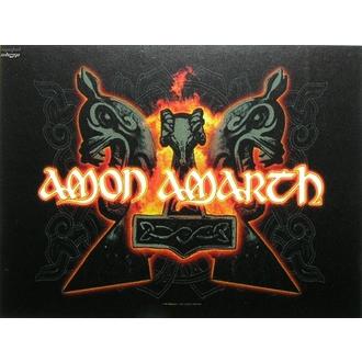 flag Amon Amarth - Hammers, HEART ROCK, Amon Amarth