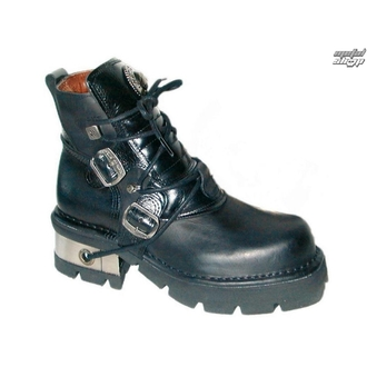 boots leather - Classic Shoes (988-S1) Black - NEW ROCK, NEW ROCK