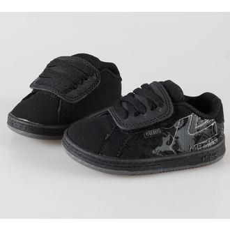 low sneakers children's - METAL MULISHA - Black/Dark Grey/Grey