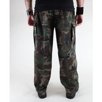 pants men BRANDIT - US Ranger Hose Woodland - 1006/10