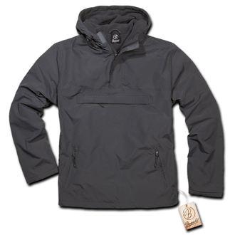 jacket men spring/autumn BRANDIT - Windbreaker Anthracite - 3001/5