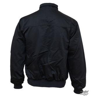 jacket men spring/autumn (HARRINGTON) BRANDIT - Lord Canterbury Black - 3111/2