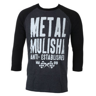 t-shirt street men's - FIRST RAGLAN L/S - METAL MULISHA - BLB_FA7519001.01