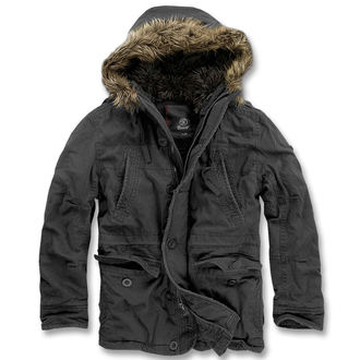 jacket men winter BRANDIT - Vintage Explorer Black - 3120/2