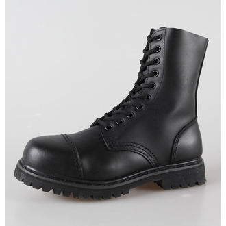 boots leather 10 eyelets BRANDIT - Phantom Black - 9002/2