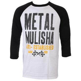 t-shirt street men's - FIRST RAGLAN - METAL MULISHA, METAL MULISHA