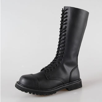 leather boots - BRANDIT - 9004-black