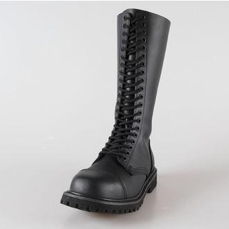 boots leather 20 eyelets BRANDIT - Phantom Black - 9004/2